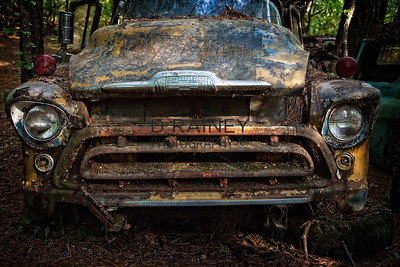 Color of Rust - Yellow Chevy Truck