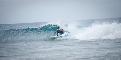 Chris being good in the barrel.