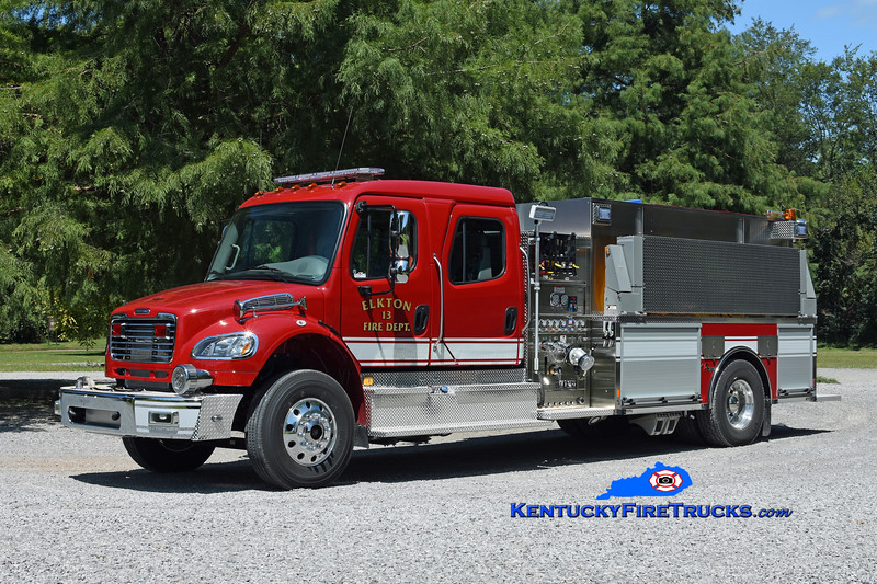 Elkton  Engine 13<br /> 2018 Freightliner M2-106/Toyne 1000/2000<br /> Kent Parrish photo