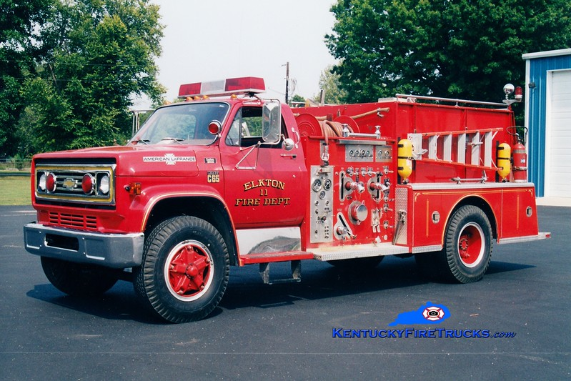 <center> RETIRED <br> Elkton  Engine 11  <br> 1978 Chevy C65/American LaFrance 1000/750  <br> Greg Stapleton photo </center>