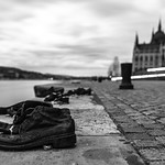 "Can Togay's ""Shoes on the Danube Bank"" sits just south of Budapest's parliament building, dedicated to the 3,500 people shot into the Danube by Hungary's Arrow Cross party between 1944 and 1945."