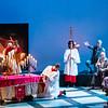 Baron Scarpia – Rubin Casas<br /> Sacristan – Erik Kroncke<br /> Ensemble Tenor – Cameron Steinmetz<br /> Ensemble Bass – Jack DesBois<br /> Priest – Christopher Ross<br /> Middlebury chorus