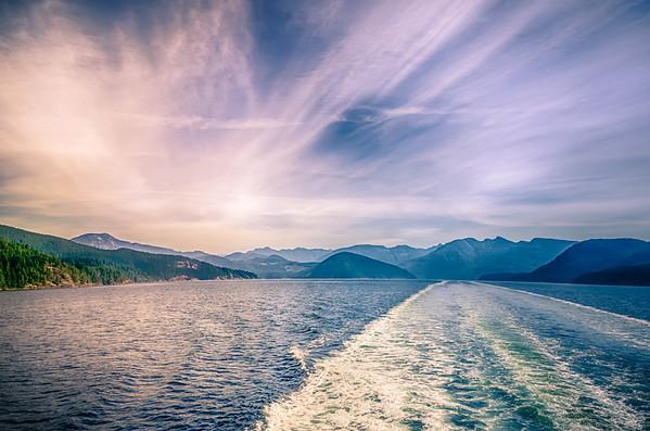 Ferry Morning