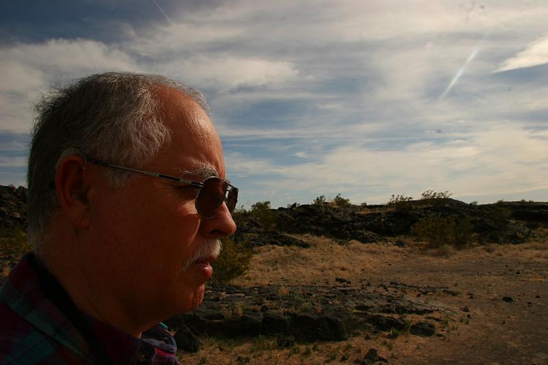 Al A Lava Fields of Amboy Crater - 2009