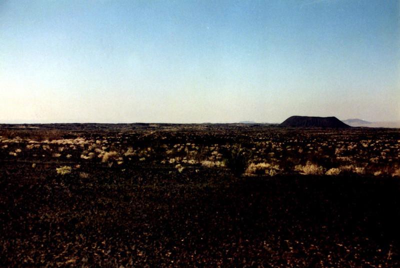 Lava Field, Amboy Crater 1995