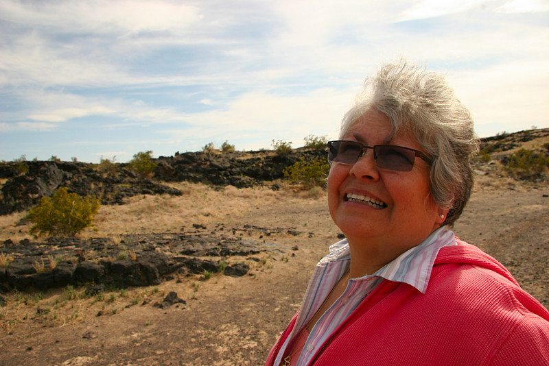 Annie A Lava Fields of Amboy Crater - 2009