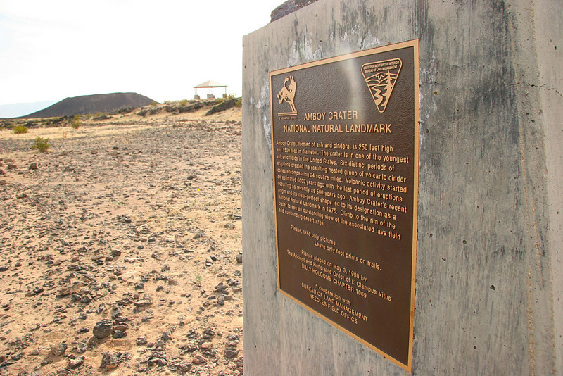 Entering Amboy Crater National Natural Landmark - 2009