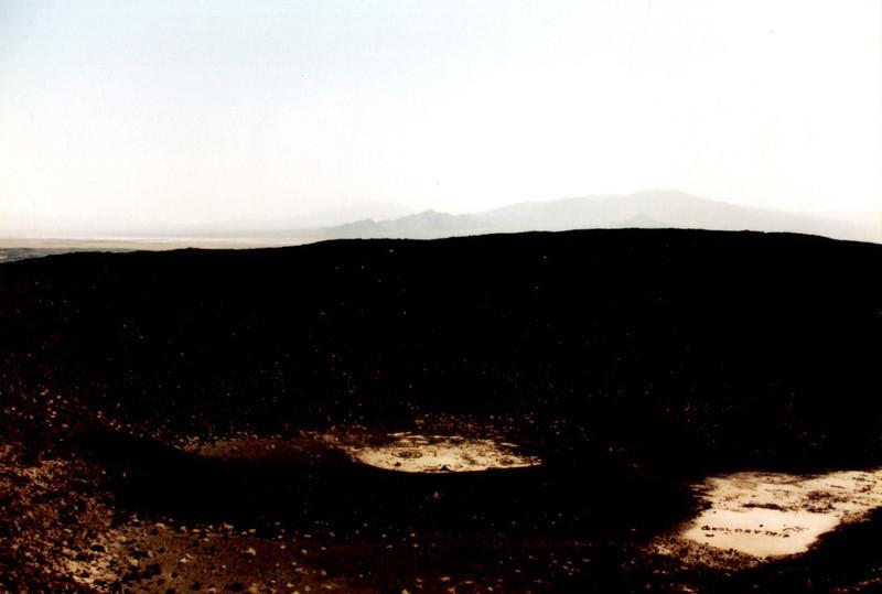 Inside Amboy Crater 1995