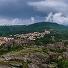 View over Belogradchik from Kaleto