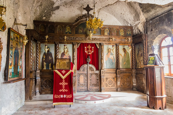 Original rock-hewn church of Basarbovo, which to day houses a woodcarver iconostasis from 1941 – From Bridges to rock-hewn monasteries and more waterfalls