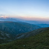 Sunset Panorama from Botev