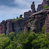 In between Belogradchik Rocks