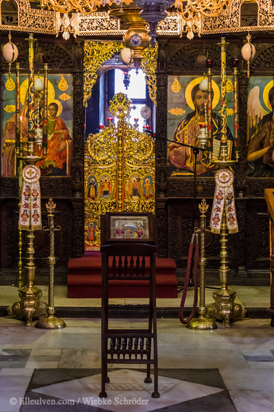 Icons and the hidden Altar of the Troyan Monastery