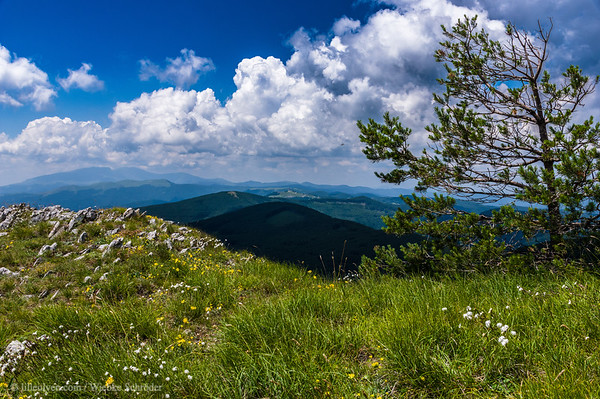 Shipka Monument in the distance from Buzludzha – Rebels, battlefields & monuments