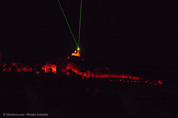 Lightshow over Tsarevets of Veliko Tarnovo – From Bridges to rock-hewn monasteries and more waterfalls