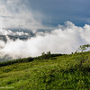 In the clouds of Beklemento Pass