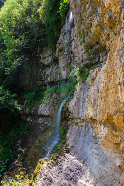 Skaklya: Bulgaria's highest waterfall with a hight of 85 meters, one of the main features of Vazova's Eco trail.