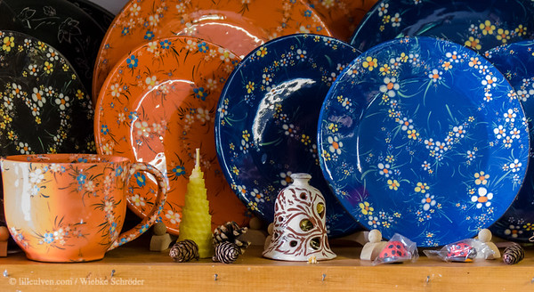 Handcrafted Bulgarian pottery