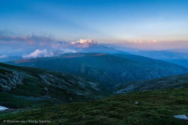 Sunset from the top of Botev – Rebels