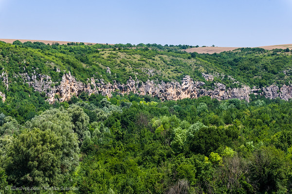 View from the rock hewn monastery of Ivanovo –From Bridges to rock-hewn monasteries and more waterfalls