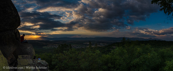 Sunset Panorama from the Megalith – ancient history