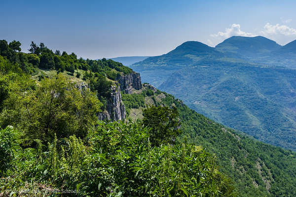 View from the top end of Vazova's Eco Trail