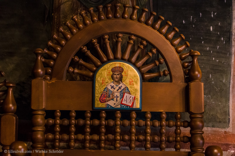 Wooden Carvings in the Troyan Monastery