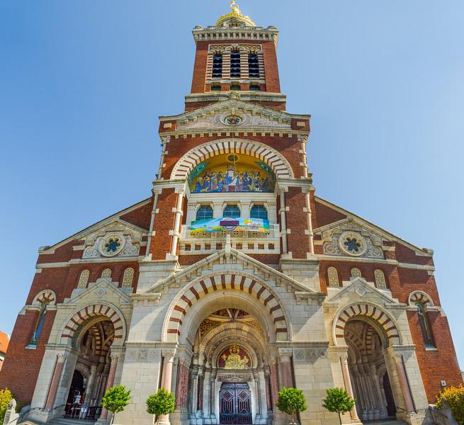 Basilica of Notre Dame de Brebieres, Albert, France