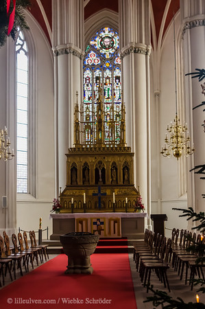 """<span class=""""wsc_subtitle"""">Verden (Aller), Niedersachsen, Germany</span>  The cathedral of Verden is the first gothic cathedral of Lower Saxony and it is the only one that is a episcopal church. It replaces two wooden churches, which burned down in 850 and 950 and two stone churches which suffered from the same fate in the 11th and 12th century. The building of today's cathedral was done in two construction stages, of which the first one lasted from 1290 until 1323 and the second one lasted from 1473 until 1490. The mainentrance is usually closed so the access is given through a side door from the Lugenstein, which then leads through a cloister. The architecture of this cathedral is based losely on the architecture of the cathedral of Reims and the cathedral of Minden."""