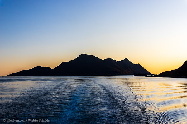 Raftsundet from the MS Trollfjord - Photo of the month May 2021