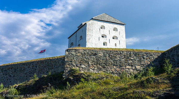 Donjonen (defense tower) of Kristiansten festning