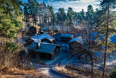Christmasmarket at the Folkemuseum in Oslo