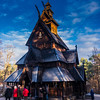 Gol Stavechurch during the Christmasmarket