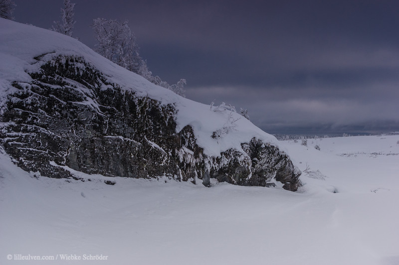 Winter in the mountains of Venabu