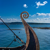 Viking boat in the Oslo fjord