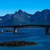 Bridge between two of the islands of the Lofoten