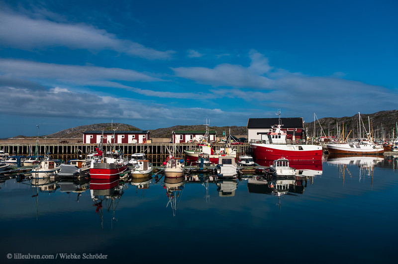 Harbor of Bodø. This photo is published in Lille Ulven Photography's Norway calendars.