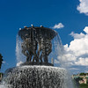 Fountain in the Vigelandsparken