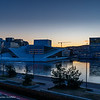 Early morning hours in Bjørvika