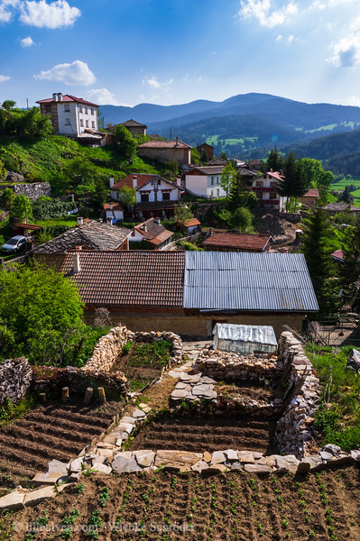 A small village in the Rhodope Mountains