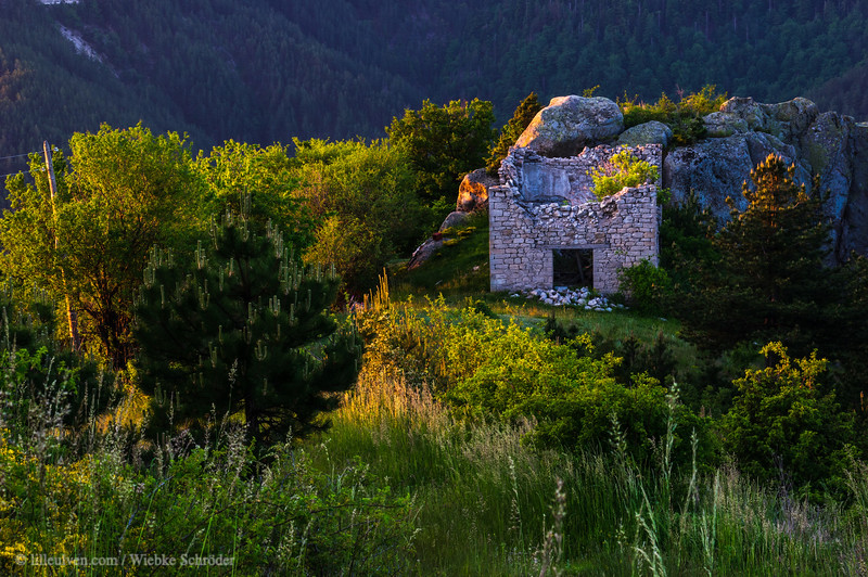 Sunrise from an abandoned village