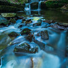 Cascading river in the Rhodope Mountains