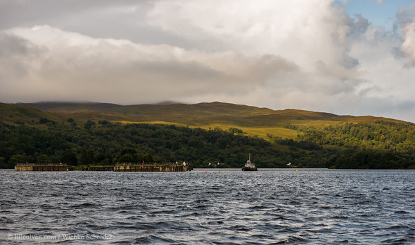 Looking from Corpach over Loch Eil