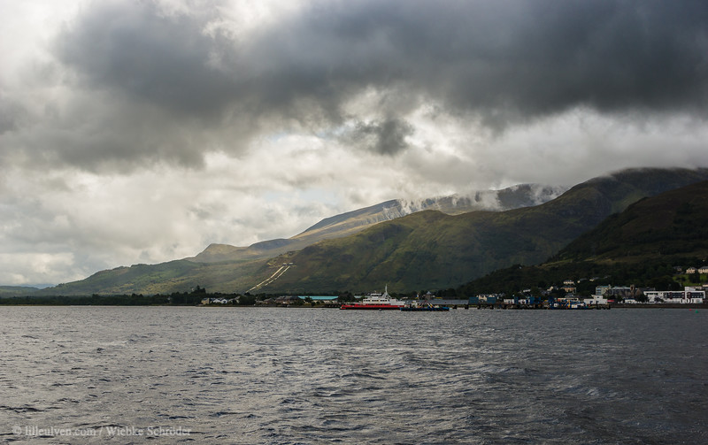 Fort William from Loch Linnhe