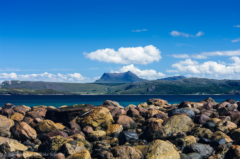 Looking from Laide toward the island of Gruinard