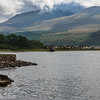 Fort Williams and Ben Nevis from Loch Eli