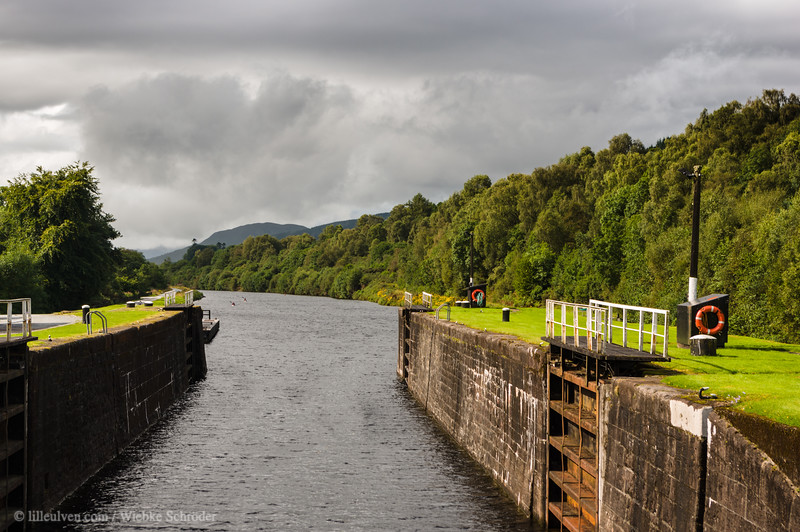 Caledonian Canal in Gairlochy