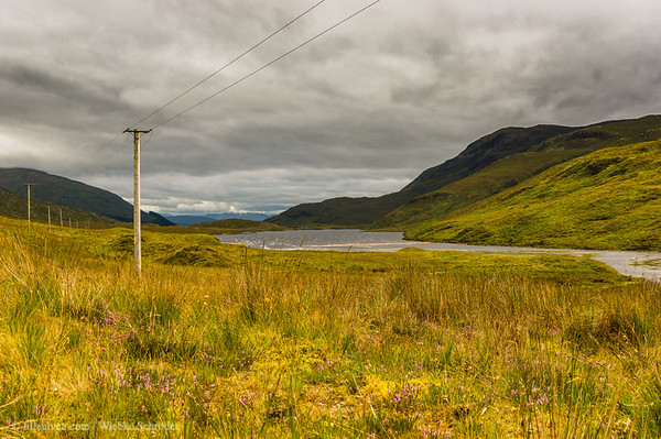 Looking over Loch Uisge