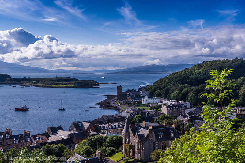 Overlooking Oban from McCraig's Tower