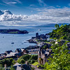 Overlooking Oban from McCraig's Tower (HDR)